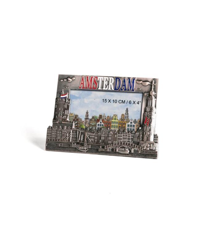 Fotolijst metaal Amsterdam tin