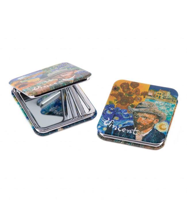 6 stuks Spiegeldoos Vincent Van Gogh