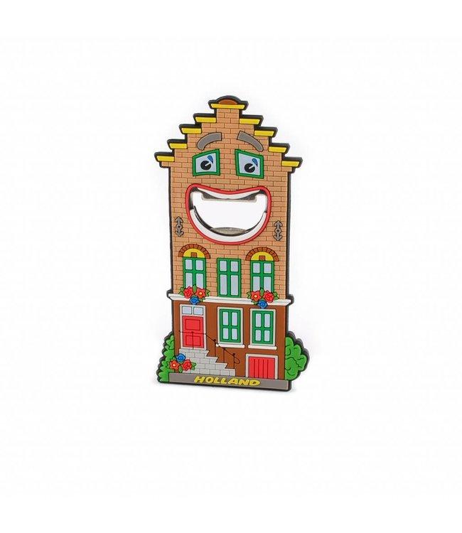 10 stuks Opener magneet huis Holland