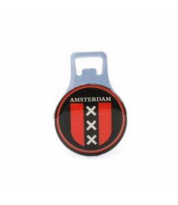 12 stuks Opener magneet metaal merk Amsterdam