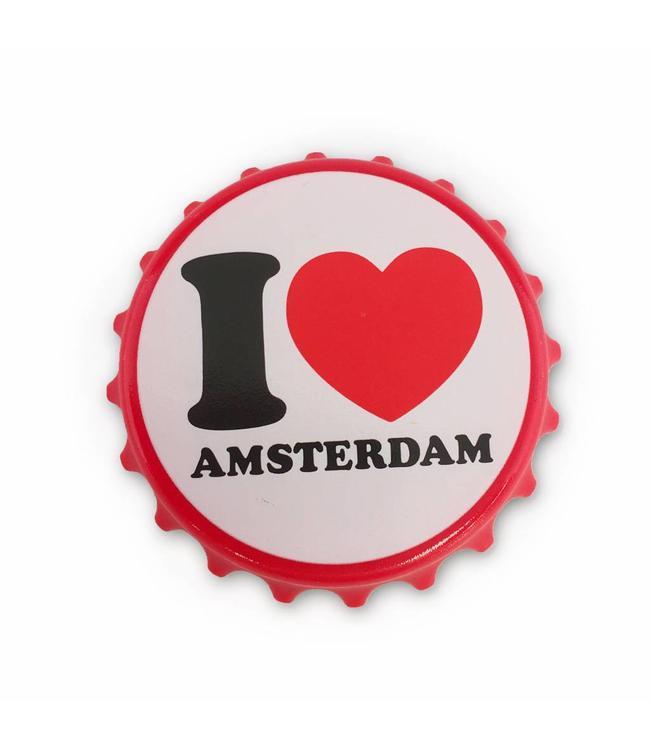 12 stuks openers I love Amsterdam