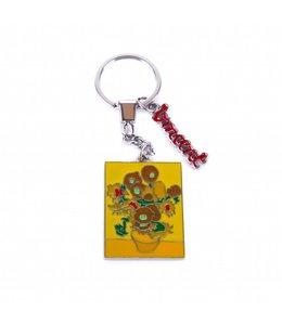 12 stuks sleutelhanger Zonnebloemen - Vincent van Gogh