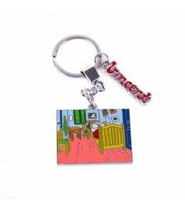 12 stuks sleutelhanger Slaapkamer - Vincent van Gogh