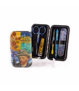 6 stuks Manicure setje Vincent Van Gogh