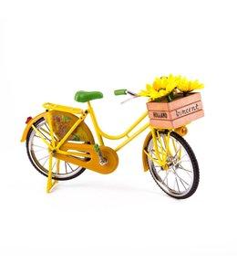 fiets Zonnebloemen van Gogh