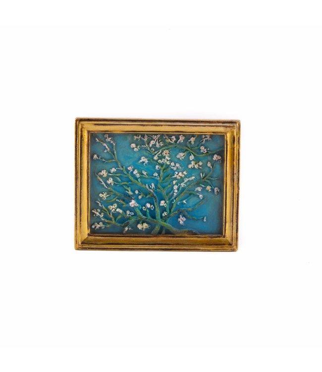 12 stuks magneet polystone Amandelbloesem - Vincent van Gogh