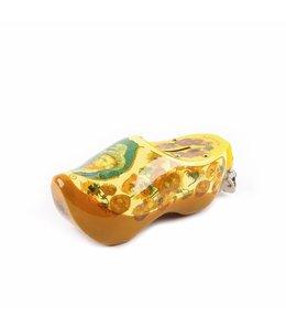 6 stuks Spaarpot klomp 15 cm Van Gogh