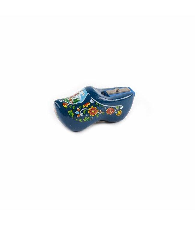 6 stuks Klompslijpertje 6 cm Holland blauw