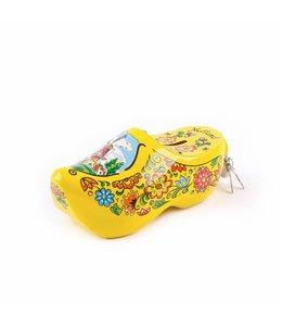 6 stuks Spaarpot klomp 15 cm Holland geel