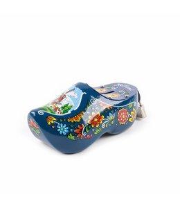 6 stuks Spaarpot klomp 15 cm Holland blauw