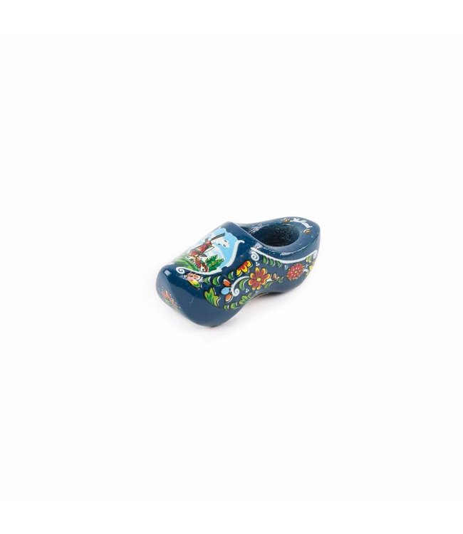 12 stuks Magneet klomp enkel Holland blauw 6 cm