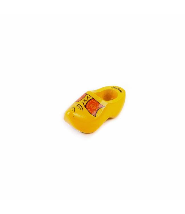 12 stuks Magneet klomp enkel Holland boerengeel 6 cm