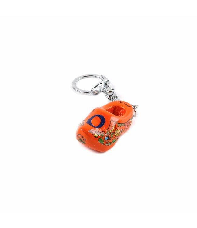 10 stuks Holland letterklomp  O  sleutelhanger assorti 10 st.