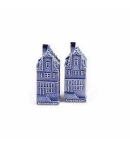 Peper & zout huizen Amsterdam/Holland db