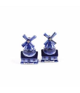 Peper & zout stellingmolen delftsblauw