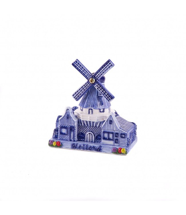 Stelllingmolen delftsblauw Holland 10 cm