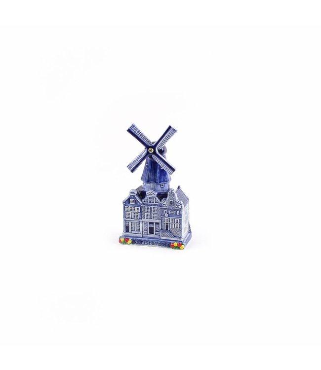 Stadsmolen Delftsblauw Holland 17 cm
