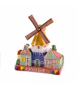 stelllingmolen 10 cm color Holland