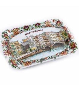6 stuks Dienblad color Amsterdam 26 x18 cm