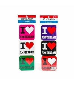 Coasters I love Amsterdam