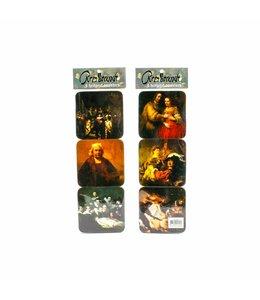 Coasters Rembrandt van Rijn