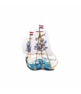 stuks Klompboot in doosje delftsblauw
