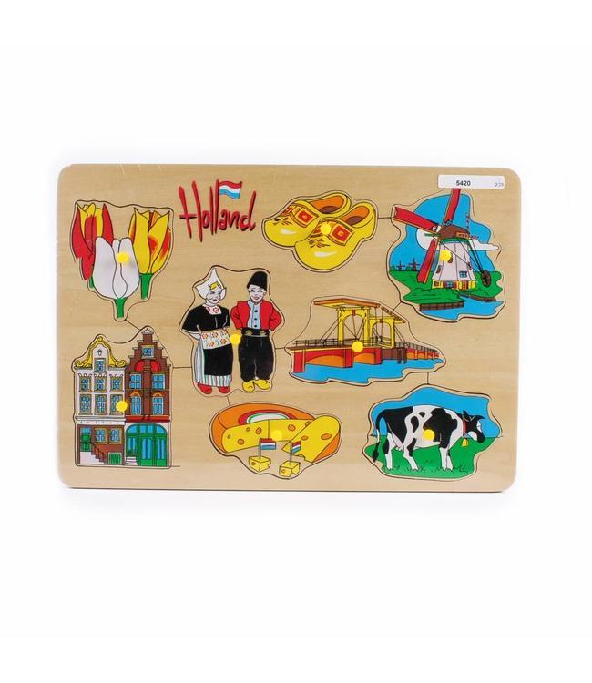 Houten puzzel Holland mix