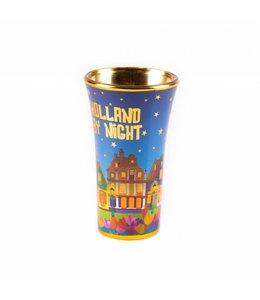 6 stuks Shotglas Holland by night large