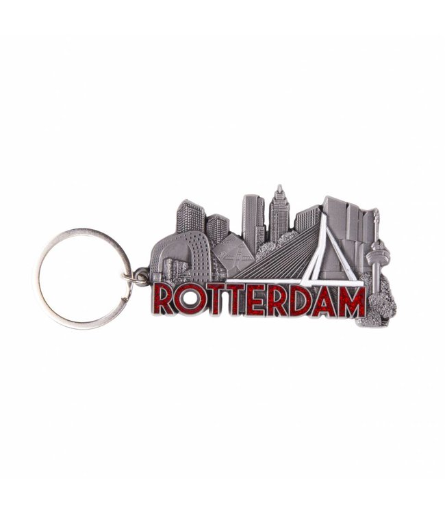 12 stuks sleutelhanger Rotterdam stad