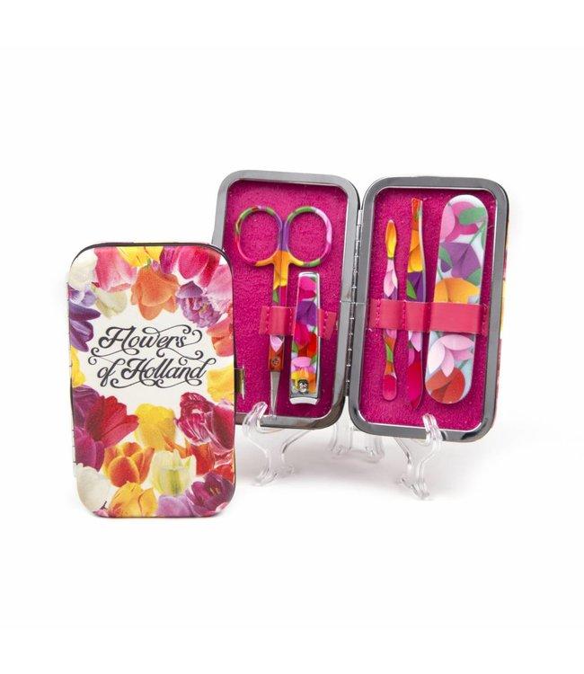 6 stuks Manicuresetje Flowers of Holland