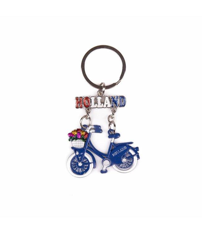 12 stuks SH fiets blauw hangend Amsterdam glitter