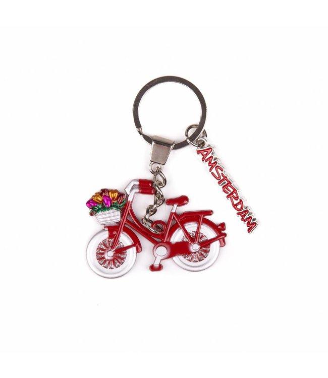 12 stuks SH fiets rood met bedel Amsterdam