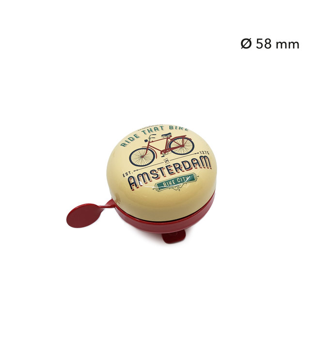 Fietsbel Amsterdam Ride that Bike kleur
