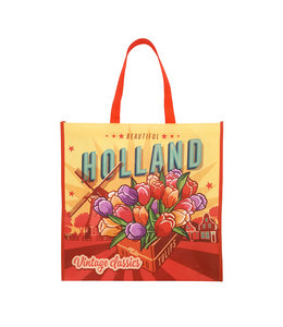 12 stuks shopper Holland vintage tulpen