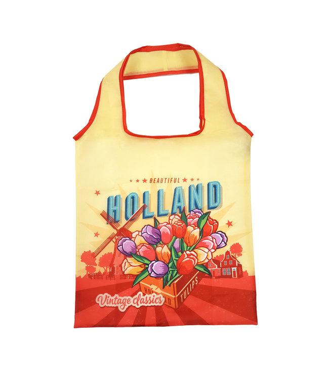 12 stuks foldable Holland tulpen geel