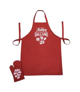 Keukenset rood Holland