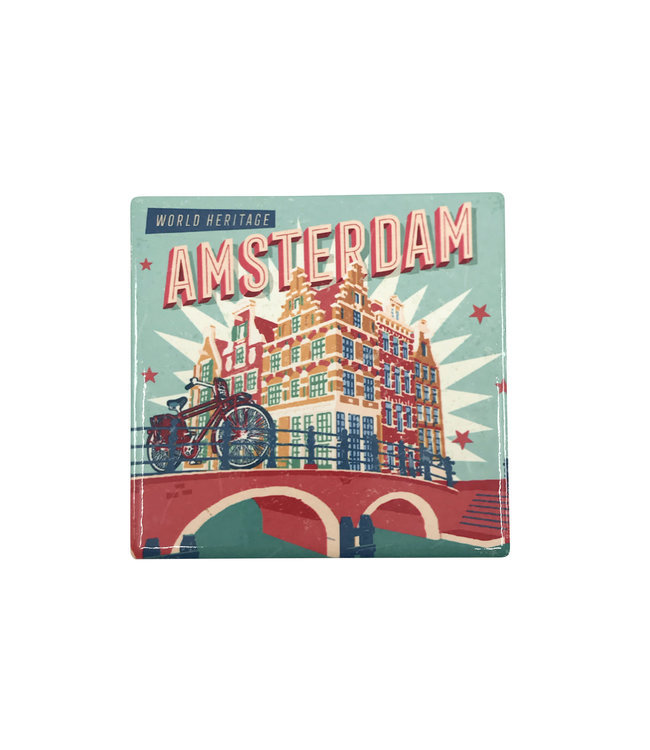 12 stuks Coaster Amsterdam Canals