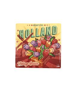 12 stuks coaster Holland tulpen