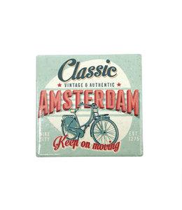 12 stuks tegelcoaster Amsterdam classic