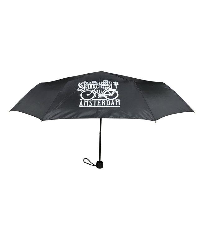 12 stuks paraplu Amsterdam zwart