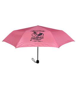 12 stuks paraplu Amsterdam roze