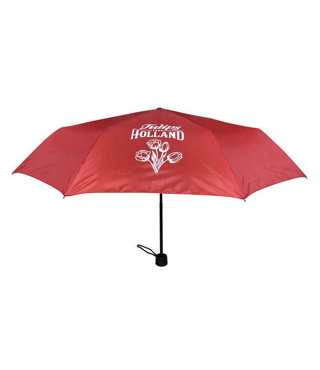 12 stuks paraplu Holland rood