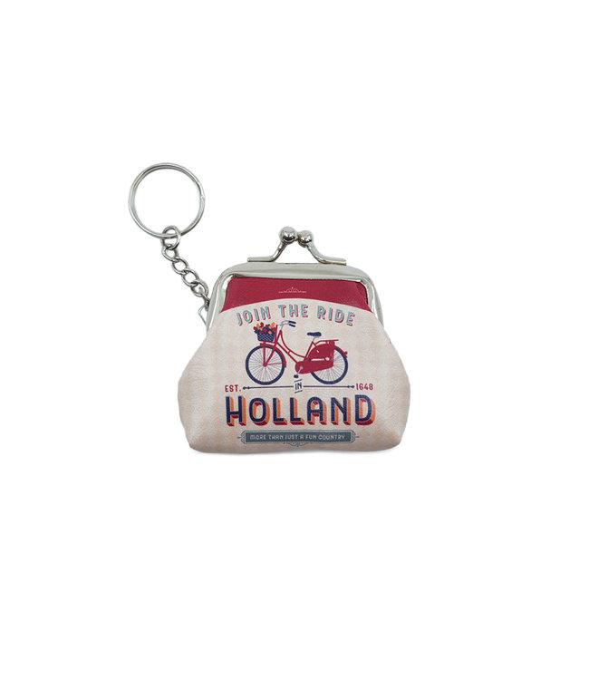 12 stuks sleutelhanger portemonnee klein Holland Join the ride