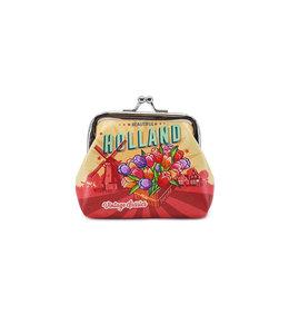 12 stuks portemonnee klein Holland tulpen