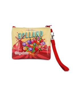 12 stuks portemonnee/tasje Holland tulpen