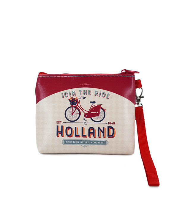 12 stuks portemonnee/tasje Holland join the ride