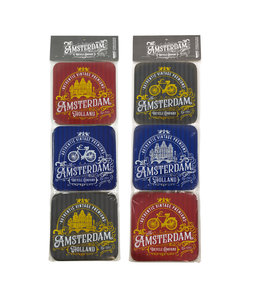 Coasters Amsterdam classic vintage