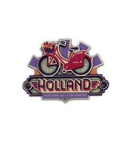 12 stuks MDF vintage Holland bike fun country