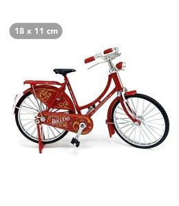 Fiets vintage rood Holland