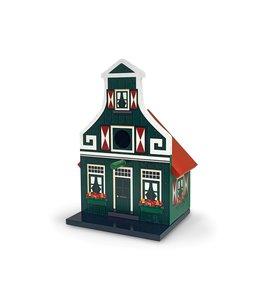 Vogelhuis groen Zaans huisje